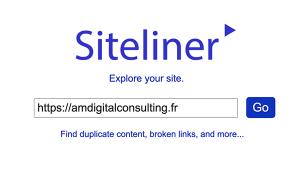 siteliner utilisé par agence web AM Digital Consulting
