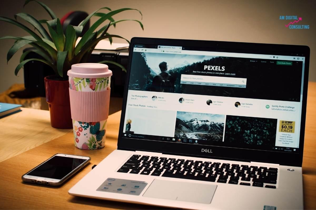 Création site internet par agence web AM Digital Consulting