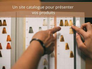Création d'un site catalogue pour votre business en ligne