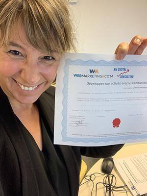 Véronique VALLANCE - Formation Webmarketing